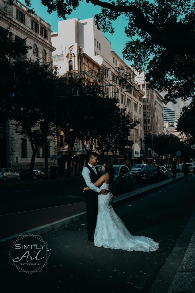 Wedding photography Cape town Moody